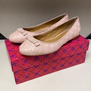 🔥🔥🔥NEW Tory Burch Marion Quilted Ballet Flats